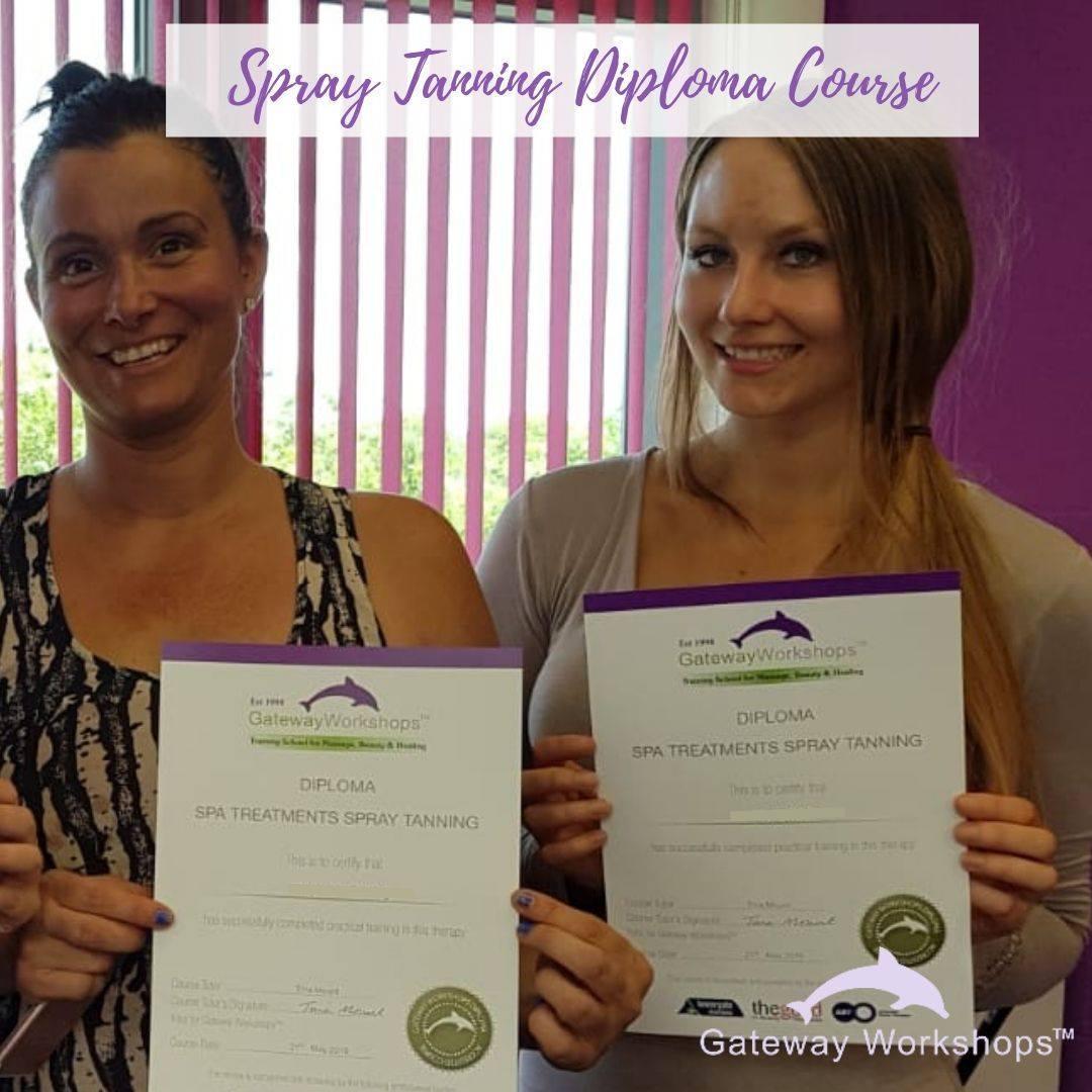 Spray Tanning Diploma Course Gateway Workshops Massage